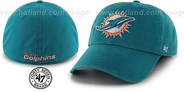 Dolphins 'NFL FRANCHISE - 2' Aqua Hat by Twins 47 Brand