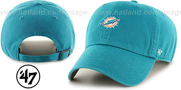 Dolphins 'POLO STRAPBACK' Aqua Hat by Twins 47 Brand