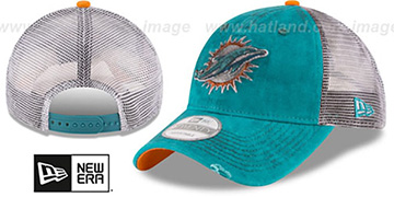 Dolphins 'RUSTIC TRUCKER SNAPBACK' Hat by New Era