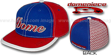 Domepiece 1999-03 'DOME PINWHEEL' Royal-Red Hat