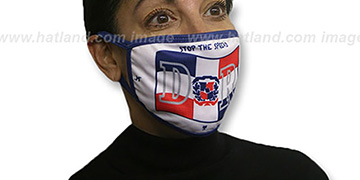 DOMINICAN FLAG Washable Fashion Mask by Hatland.com