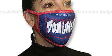 DOMINICAN GRAFFITI Washable Fashion Mask by Hatland.com