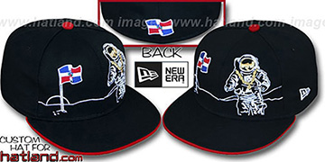 Dominican 'MOONMAN' Black Fitted Hat by New Era