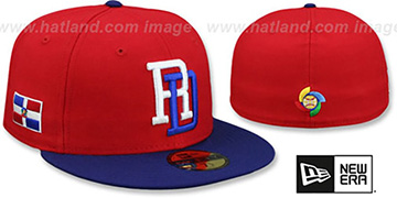 Dominican PERFORMANCE WBC-2 Hat by New Era