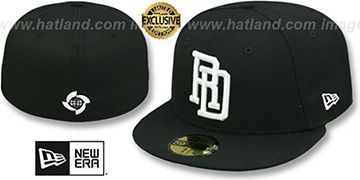 Dominican Republic 'PERFORMANCE WBC' Black-White Hat by New Era