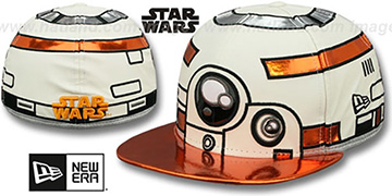 Droid Bb8 'CHARACTER FACE' Fitted Hat by New Era