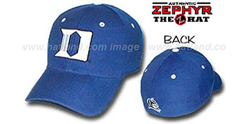 Duke 'DH' Fitted Hat by ZEPHYR - royal