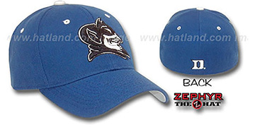 Duke 'DHS' Fitted Hat by ZEPHYR - royal