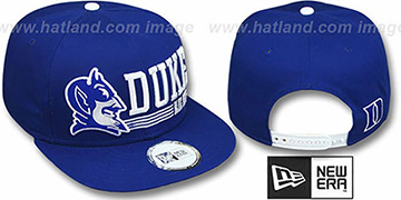 Duke 'RETRO-SNAPBACK' Royal Hat by New Era