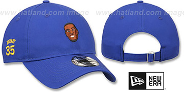 Durant 'PRIMARY PLAYER STRAPBACK' Royal Hat by New Era