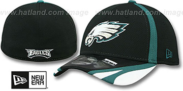 Eagles '2014 NFL TRAINING FLEX' Black Hat by New Era