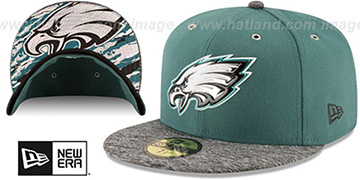 Eagles 2016 NFL DRAFT Fitted Hat by New Era