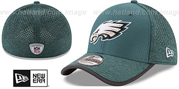 Eagles '2017 NFL TRAINING FLEX' Green Hat by New Era