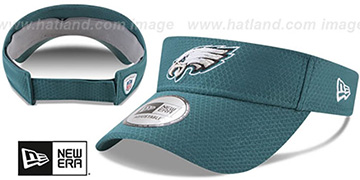 Eagles '2017 NFL TRAINING VISOR' Green by New Era