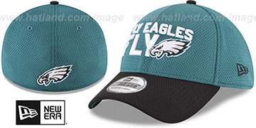 Eagles 2018 SPOTLIGHT FLEX Green-Black Hat by New Era