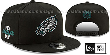 Eagles '2020 NFL VIRTUAL DRAFT SNAPBACK' Black Hat by New Era