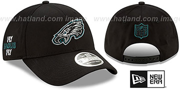 Eagles 2020 NFL VIRTUAL DRAFT STRETCH-SNAP Black Hat by New Era