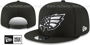 Eagles 'FLAG FILL INSIDER SNAPBACK' Black Hat by New Era