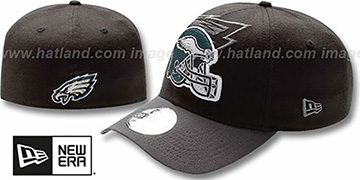 Eagles NFL BLACK-CLASSIC FLEX Hat by New Era