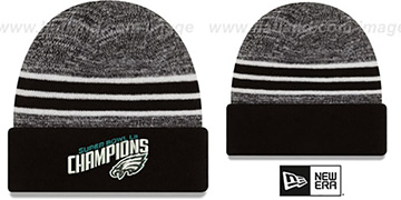 Eagles NFL SUPER BOWL LII CHAMPIONS  Knit Beanie Hat by New Era