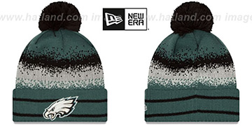 Eagles SPEC-BLEND Knit Beanie Hat by New Era