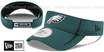 Eagles 'SPEED-VISOR' Green by New Era