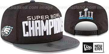 Eagles SUPER BOWL LII CHAMPIONS PARADE SNAPBACK Hat by New Era