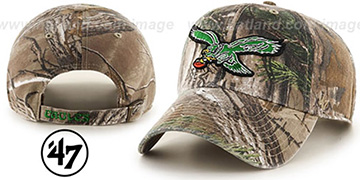 Eagles THROWBACK 'CLEAN-UP REALTREE' Strapback Hat by 47 Brand