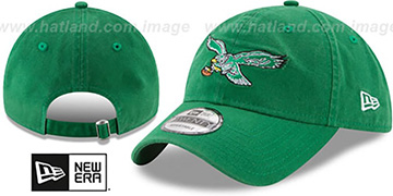 Eagles 'THROWBACK CORE-CLASSIC STRAPBACK' Green Hat by New Era