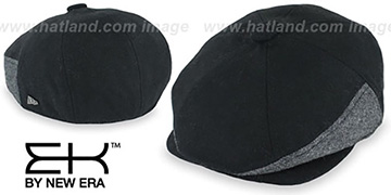 EK HERRING-HYBRID NEWSBOY Black Hat by New Era