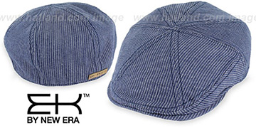 EK 'PINSTRIPE NEWSBOY' Denim Hat by New Era