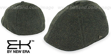 EK TWEED DUCKBILL Olive Driver Hat by New Era