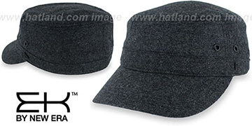 EK TWEED MILITARY Black Hat by New Era