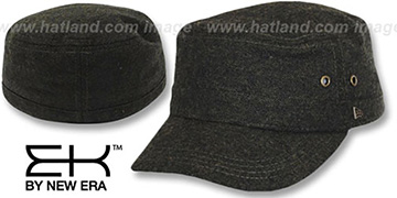 EK TWEED MILITARY Olive Hat by New Era