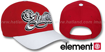 Element GOON Red-White Adjustable Hat