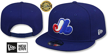 Expos 1992-2004 'COOPERSTOWN REPLICA SNAPBACK' Hat by New Era