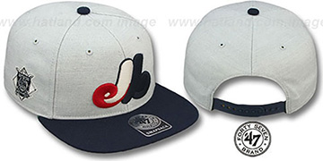 Expos COOP 'SATCHEL SNAPBACK' Adjustable Hat by Twins 47 Brand
