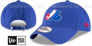 Expos 'COOPERSTOWN CORE-CLASSIC STRAPBACK' Royal Hat by New Era