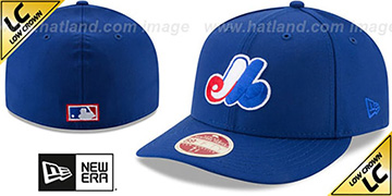 Expos 'LOW-CROWN VINTAGE' Fitted Hat by New Era