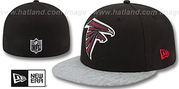 Falcons '2014 NFL DRAFT' Black Fitted Hat by New Era