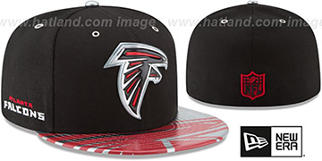 Falcons '2017 SPOTLIGHT' Fitted Hat by New Era