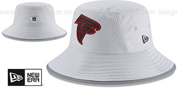 Falcons 2018 NFL TRAINING BUCKET Grey Hat by New Era