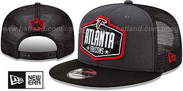Falcons 2021 NFL TRUCKER DRAFT SNAPBACK Hat by New Era