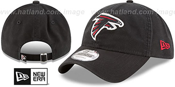Falcons CORE-CLASSIC STRAPBACK Black Hat by New Era