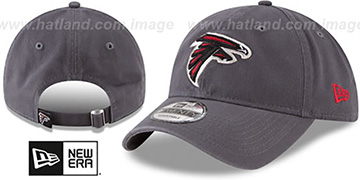 Falcons CORE-CLASSIC STRAPBACK Charcoal Hat by New Era
