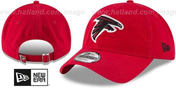 Falcons CORE-CLASSIC STRAPBACK Red Hat by New Era