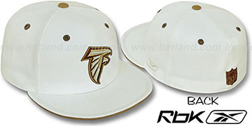 Falcons 'KOLORS' Bone Fitted Hat by Reebok