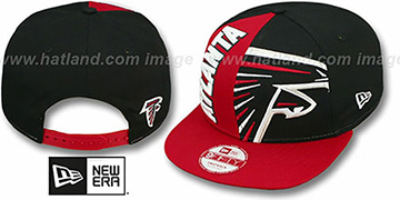 Falcons 'NE-NC DOUBLE COVERAGE SNAPBACK' Hat by New Era
