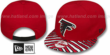 Falcons 'NFL ZUBAZ SNAPBACK' Red Hat by New Era