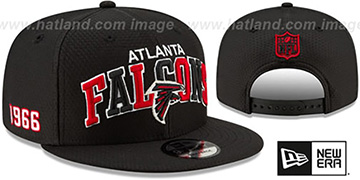 Falcons ONFIELD STADIUM 100 SNAPBACK Hat by New Era
